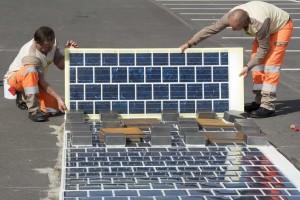 солнечные панели во франции
